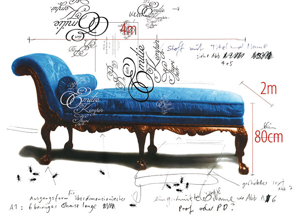 Chaiselongue Emilie Kempin-Spyri